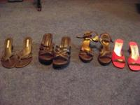 WOMEN'S SHOES, SIZE 8M ASKING $2 FOR EACH PAIR,