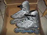 These Salomon skates are like new, I wore them one