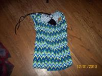 #1--Women's Size XSmall layered look top...asking $1