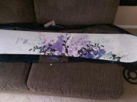 Morrow Wildflower 48 w/ Otis Snowboard bag, includes