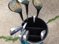 Women's Right Hand Golf Set. Includes 1 3 5 Woods 3 5 7