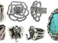 Great women's stretch fashion rings at The TIGERLILLY