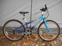 This is an extremely nice women's Trek 21-speed