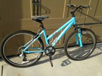 I am offering a Women's Trek 3700 Mountain Bike. This