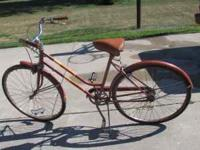 Womens 3 speed huffy sea trail older bike does have