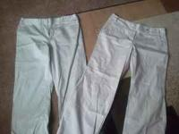 Have 2 dressing pants size 16 one of em is dress barn