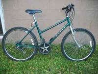Women's Mountain Bike, 15 Speed - $115. Rides Nice,