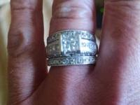 Beautiful. One of a Kind. Wedding Ring. 1.5 carat total