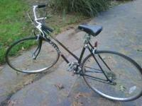Looking to sell a womens 12sp raleigh pursuit 27in road