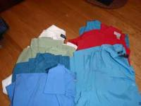 7 womens 1x dress shirts, great condition, $15 for all,