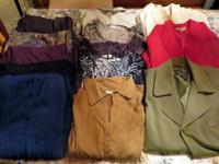 I am selling a box of Womens Clothes that total 16