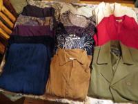 I am offering a box of Womens Clothes that total 16