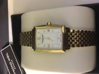 Womens Golden Raymond Weil Watch Brand New in box with