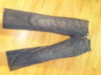 I have up for sale a pair of GAP Premium Boot Cut jeans