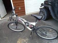 Womens Next Plush Mountain Bike 26'', nice tread,