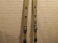 For sale are a pair of womens Nordica Skis size 170