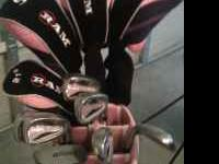 MATCHING PINK RAM GOLF CLUB SET. MOVING OVERSEAS AND