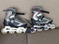 Bladerunner Pro XT Womens Rollerblades - size 9. Only