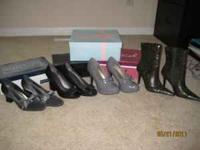 FOR SALE - WOMENS SHOES SIZE 6 AND 6 1/2. SOME BRAND
