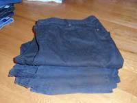 4 black pair of womens size 20 jeans, Rt 66 and
