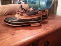 Womens size 8 duck shoes. Sporto brand Waterproof