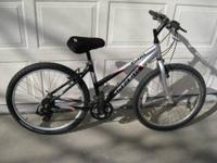 "Womens Trek 3500 Mountain Bike. 18 speed 16"" long tube"