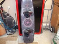 used once womens wake board we paid $420.00 plus tax