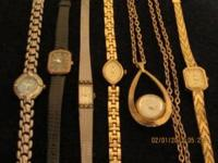 12 VERY good women's dress watches. My mother passed
