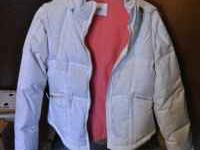 Womens winter jacket from maurices. Size Mediem. White.
