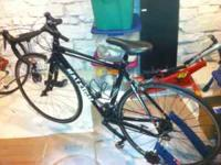 We have decided to sell both of our road bikes. My