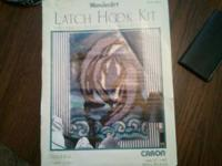 I have a Wonder Art Dolphin latch hook kit that I