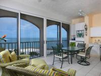 Beautiful gulf views from living area and Master