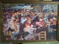 This print is one of Renoir's most famous paintings and