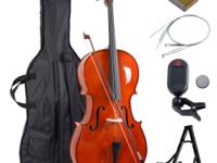 This is our brand new high grade cello which will
