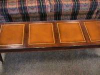 Wood Antique Long Thin Narrow Coffee Table 5' x 18""