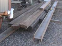 $5 AND UP Wood ONLY Beams from 8ft to 25 ft long. beams
