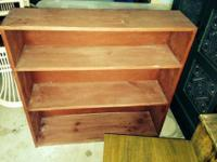 Wood Bookcase- $45 or best offer.... more items for