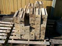 I have alot of firewood / lumber/ fire bricks & house