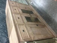 Beautifully Made, High Quality All Wood Buffet Unit4