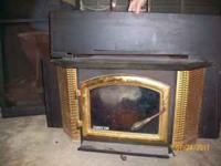 "Used Aladdin quadra fire fireplace insert Insert 22"""