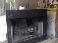Wood burning  fireplace insert - call, text or email