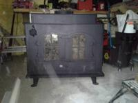 Wood Burning Stove. Make: C.E.M.I. Ultimate Built in