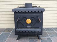 Great wood burning stove. It was replaced with a pellet