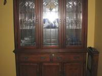 I have for sale a Wood Cabinet Measures: 67 length, 23