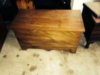 Handmade Wood Chest- $75 Or best offer... more items