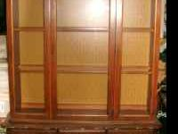 I am selling a beautiful wooden china cabinet. It has