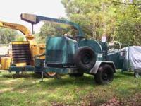 This is a 2004 1200 Woodchuck Chipper w/ roughly 250