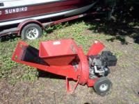 I have a MTD Wood chipper for sale, its a 8hp briggs