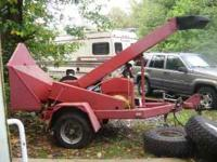 Wood chipper turn key,electric brakes. Call  Location: