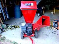 Troy-Bilt Wood Chipper/Shredder will handle up to 3""